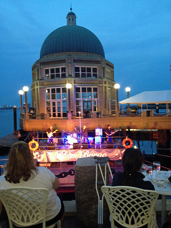 Blues Barge at Rowes Wharf