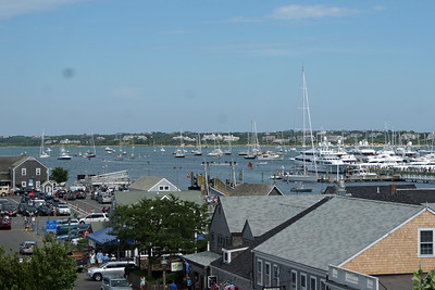 View from top of Whaling Museum