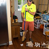 May 11, 2013 - Cleaning at the Robinson's.