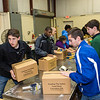 """November 13, 2013 - Calvary Christian School Student Government Association volunteers at The Valley Food Bank, Columbus, GA.   <a href=""""http://www.feedingthevalley.org"""">http://www.feedingthevalley.org</a> - photo by John David Helms."""