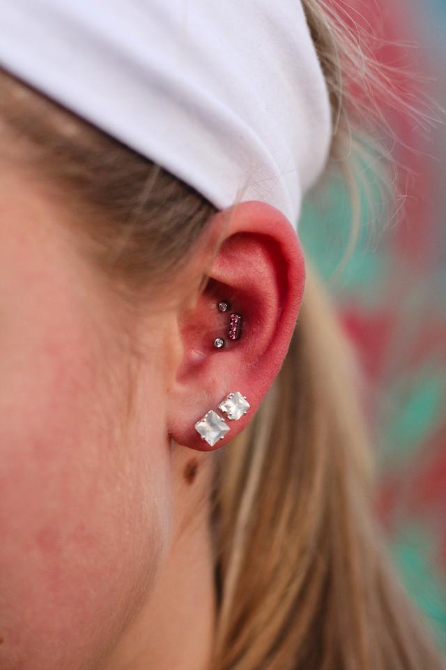 Girls Night<br /> Ear Piercings