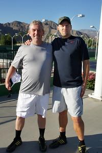 1st Match Lineup: Greg & Dirk