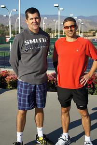 1st Match Lineup: David & Todd at Singles