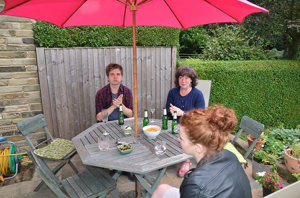 Visiting Sharon & Isabel 29-08-13