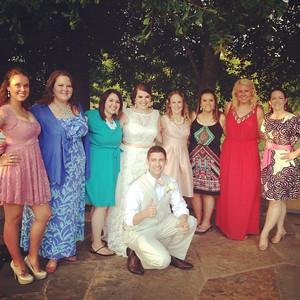 2014 06-14 Pamela with friends