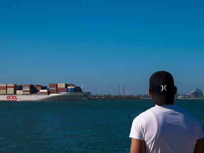 OOCL in the distance