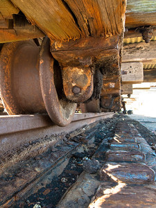 Under the carriage
