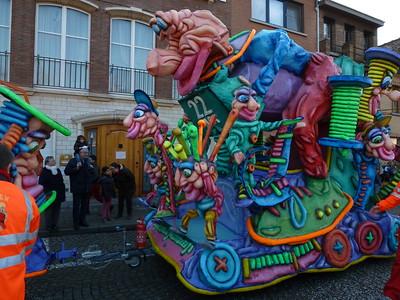2015-02-15 Carnavalstoet in Vilvoorde!