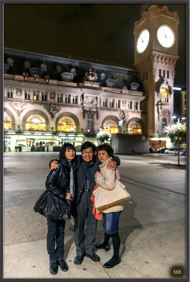 2015-11-13 Paris avec Kyoko Nu & Naoko