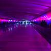 Tunnel under Detroit airport