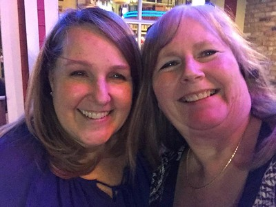 2016 02-15 dinner at Willey's with Joanie