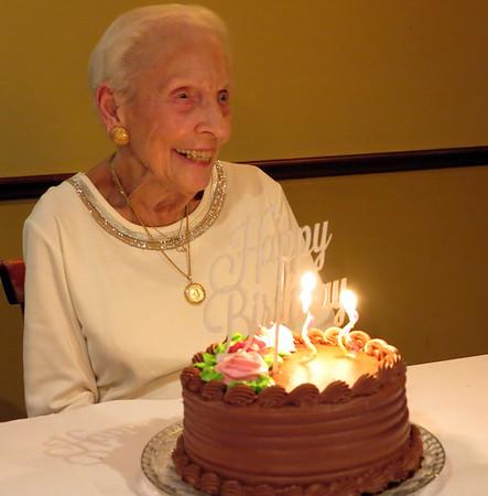 2017 - Leah's 95th Birthday