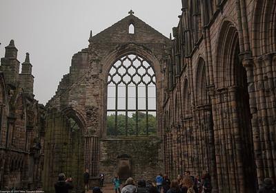 Hollyrood Abbey, Edinburgh
