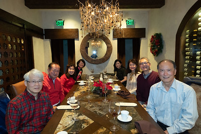 Holiday Party at Tracy and John Shih's House, 2018, Chiang Shang-Yi, Ken and June Liu