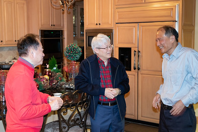 Holiday Party at Tracy and John Shih's House, 2018, Chiang Shang-Yi, Ken and June Liu