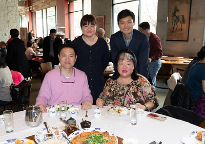 Dining at Great China Restaurant with the Moys, Holiday gift Exchange