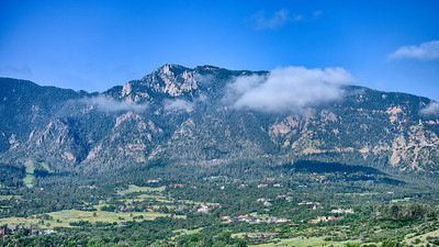 View from Cheyenne Mountain - Colorado Springs - A Dolce Resort