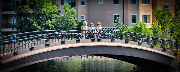 Teri, Carol and Pam at The Broadmoor Hotel grounds