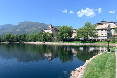 The Broadmoor Hotel grounds