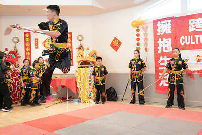 Chia-Chia Chien organized Danville Chinese New Year Celebration at Danville Community Center