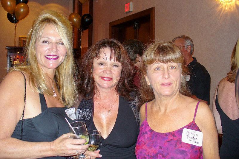 Maureen, Sammye, and Marilyn
