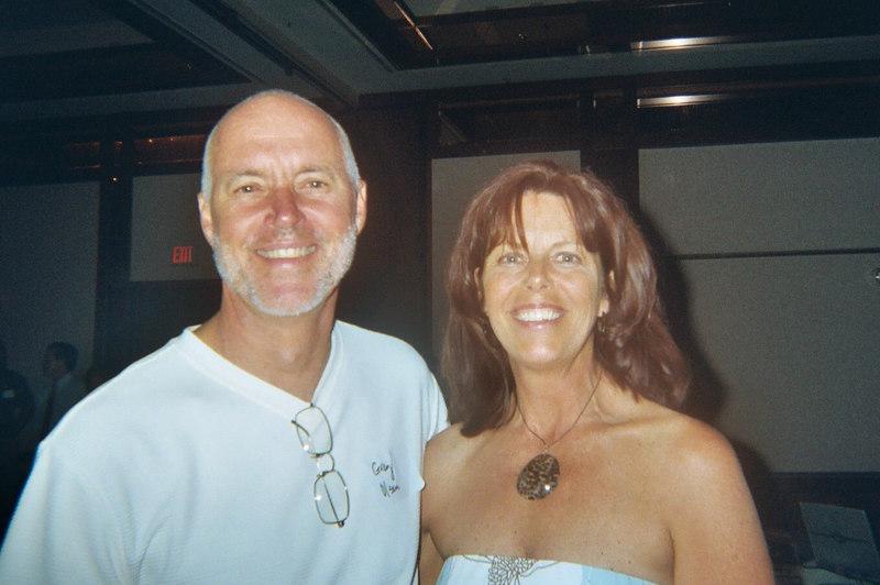 Greg Olsen and Julie Bruce Schnorr