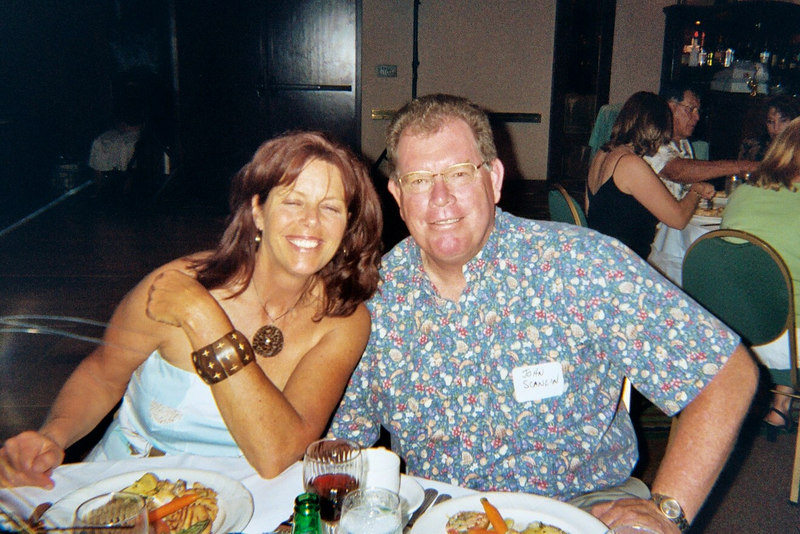 Julie Bruce Schnorr and John Scanlin