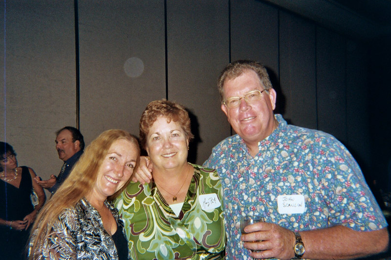 Bonnie, Mary Pat, and John