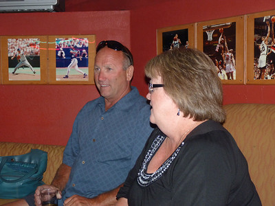 John Cahill and Patti Murphy McCormick