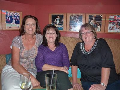 Julie Bruce Schnorr, Mary Mulvihill Maupin,  Patti Murphy McCormick