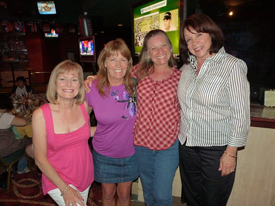 Nancy Babin McLemore, Colleen Connelly Stanovich, Cyndi Wagner Douglass, and Sammye Splawn Lacy
