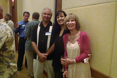 Ron and Mary Herrin Rideout, Kellie Brady Chao