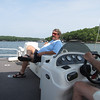 Dave enjoying the ride...