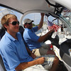 DRIVER JOAL IS THE HARBOR MASTER, AND A DEAR FRIEND OF SUE AND IRV. EVERYONE LOVED JOEL!