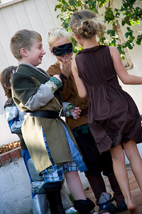 REDONDO BEACH, CALIFORNIA — Sandy Cull's medieval Robin Hood birthday party. Photo taken on Sunday, November 22nd, 2009 by Tom Sorensen/Moovieboy Pictures.