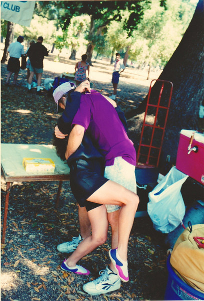 """The Kiss""  =  Cathrine and Steve at The Inskiers Chili Cook-off <br />  (Its OK . . they're married now.)"