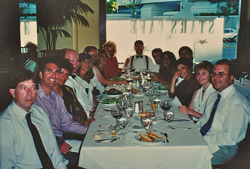 Inskiers at Stars Restaurant in San Francisco Before the Opera
