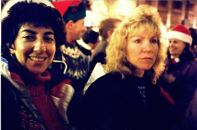 Robyn & Sandy Caroling
