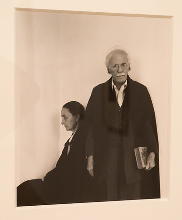 O'Keeffe and Stieglitz in 1946. He died shortly after. Photographer unknown. What does this say to you about their relationship?