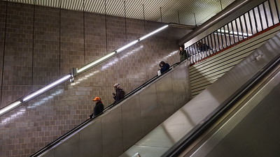 The 63rd Street Station on the Q line… brand new!! And very, very, very deep!
