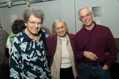 Fran, Charlotte and Ed at Jane's memorial