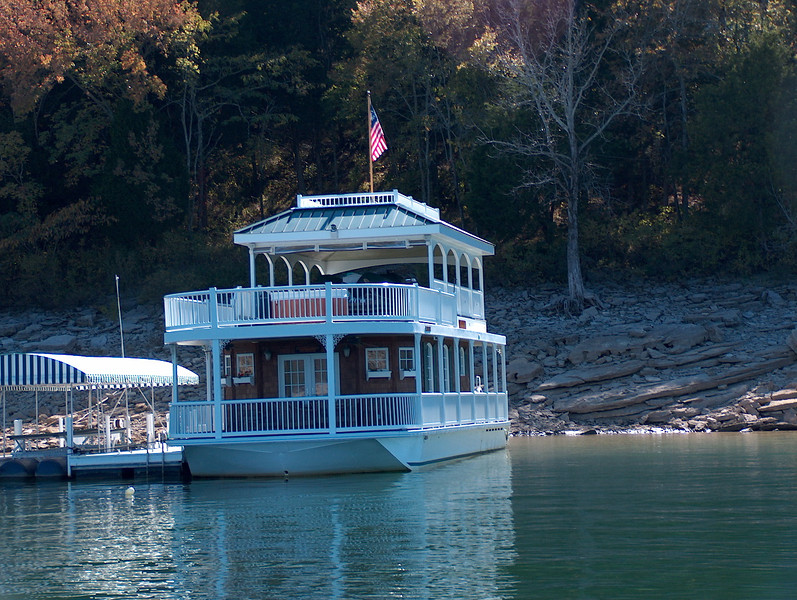 Allan Jackson's houseboat
