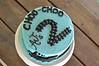 Cake #9: Train birthday cake