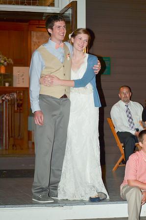 Aaron Meggie Kingsley Wedding