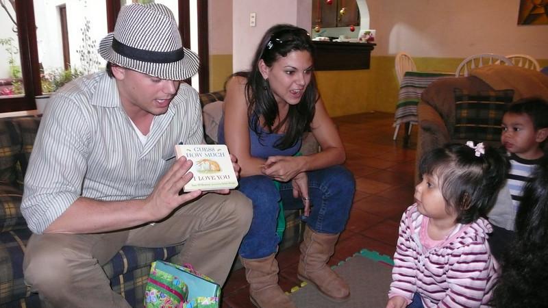 Adam & Tracy in Guatemala!