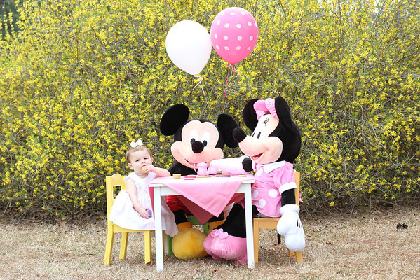 Tea Party with Micky and Minnie!