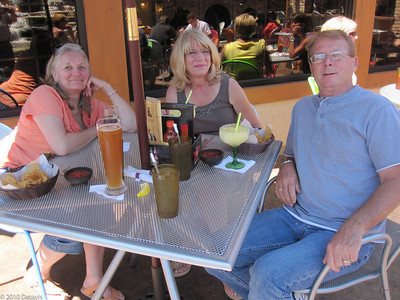 Lunch with the Dennises in Milwaukee in July 2010