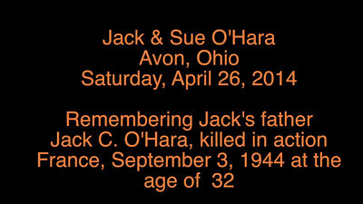 Video:  Jack O'Hara Remembers his father