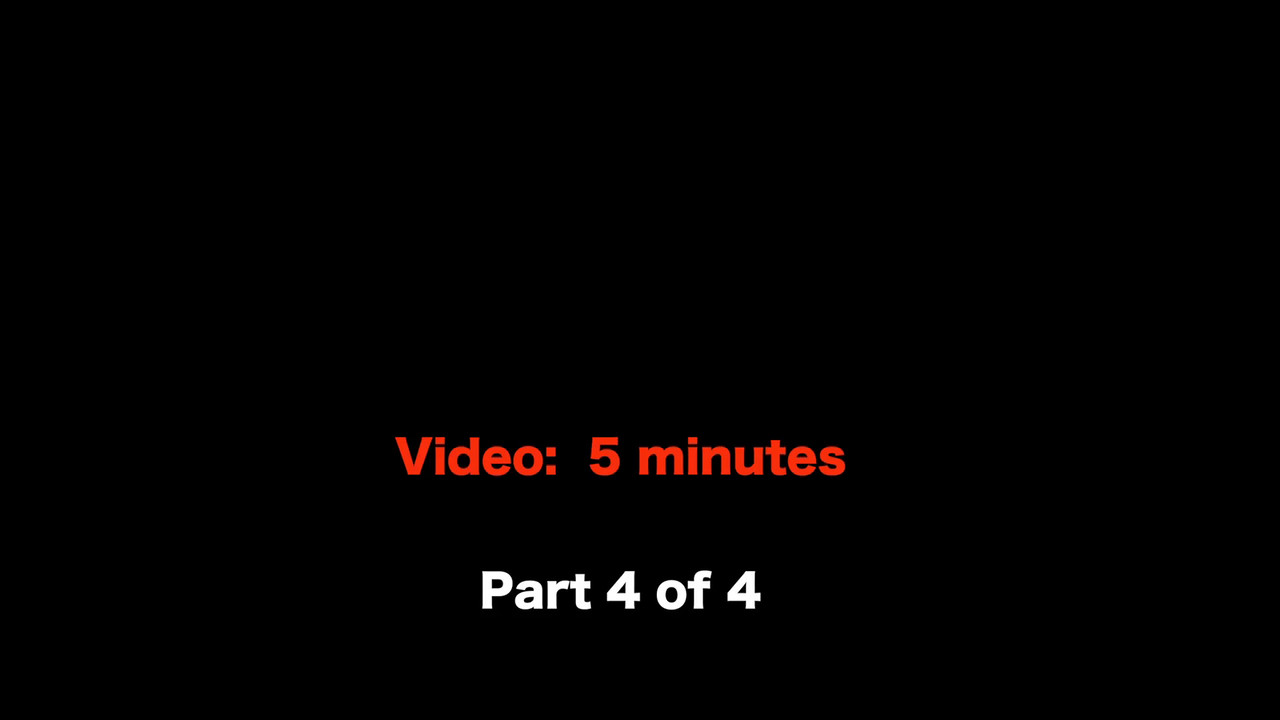 VIDEO: 5 minutes~~ Photo Review -- Part 4 of 4