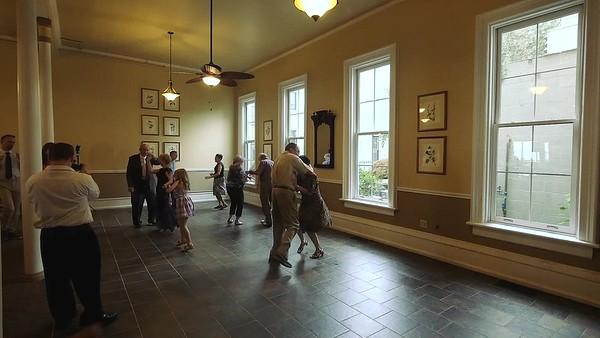 VIDEO:  4 minutes ~~ Guests join Allen & Karen dancing -
